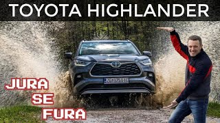 I kroz vodu i kroz grad! - Toyota Highlander - Jura se fura