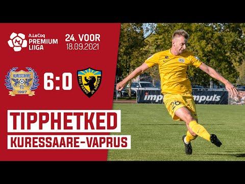 Kuressaare FC Parnu JK Vaprus Goals And Highlights