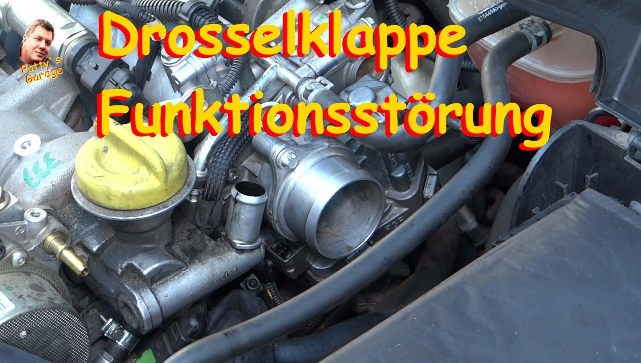 Drosselklappe Funktionsstörung Vectra C 1.9cdti - YouTube