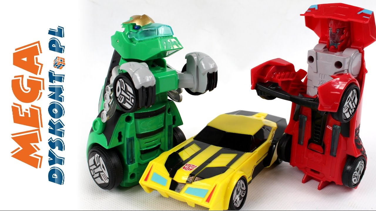 Robots in disguise race cars transformers dickie toys