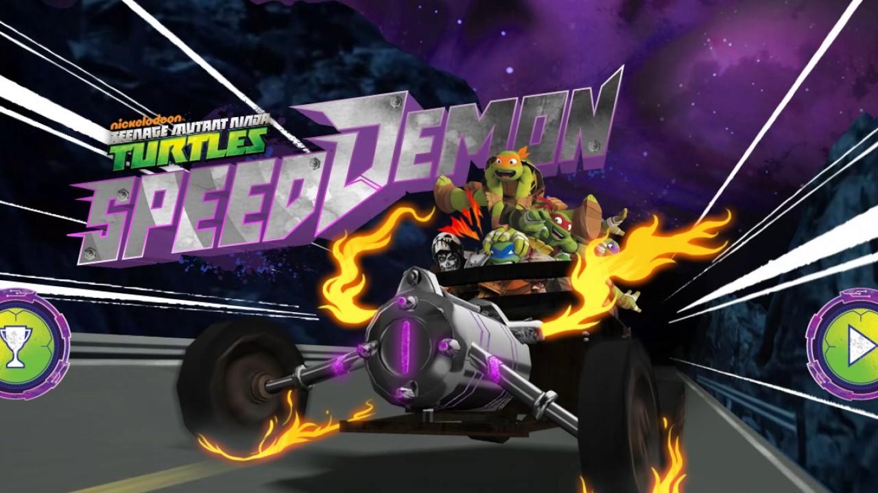 Teenage Mutant Ninja Turtles Speed Demon Racing