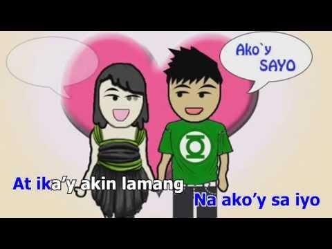 Akoy Sayo at Ikay Akin Lamang by Daniel Padilla (Karaoke)