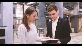 Смотреть видео «ЭлфаРус» о системах хранения и партнерстве с бизнес-центром «Нагатинский» онлайн