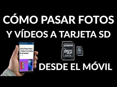 Cómo Pasar Fotos y Videos a Tarjeta SD Desde el Móvil