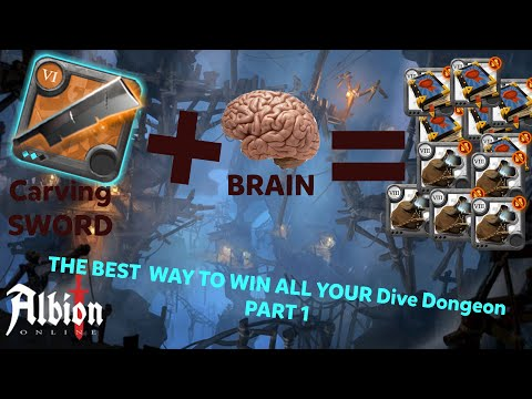 The BEST Way To WIN All Your Solo Dongeon DIVING (How To Do Money And Fame Pvp) |Albion Online PVP|