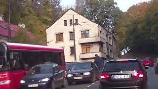 Skaitytojo video: nevaldomas Kauno vairuotojo įtūžis