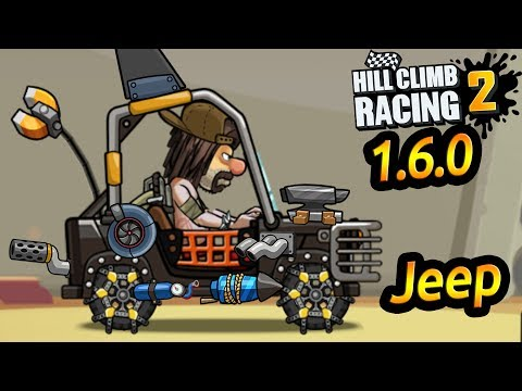 Hill Climb Racing 2 / 1.6.0 / JEEP Tunning Parts #4