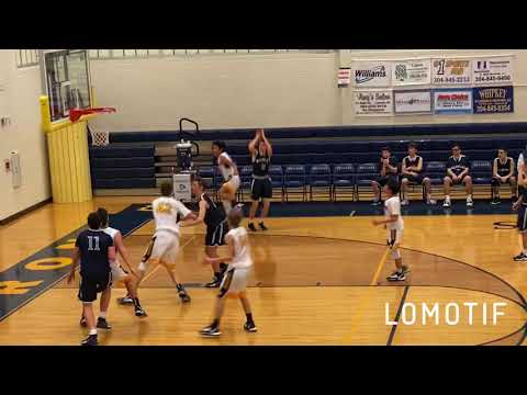 Weirton Madonna High School sophomore guard Peyton Moore highlights