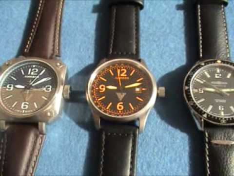 ETA Automatics by JUNKERS and ZEPPELIN in the sunlight