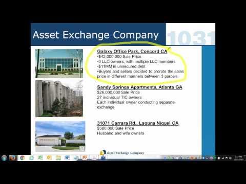 1031 Exchange  Advanced Concepts Webinar