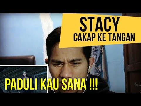 STACY   CAKAP KE TANGAN  || MV REACTION #68