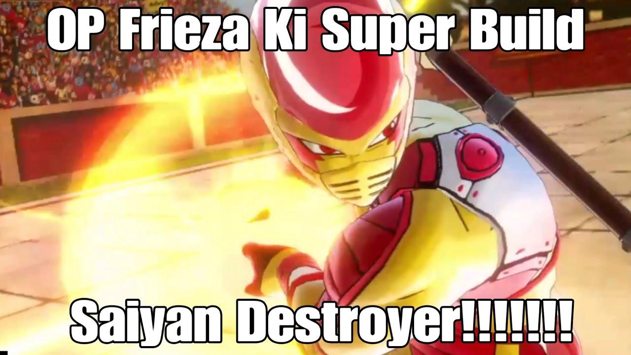Saiyan Ki Blast Build Xenoverse