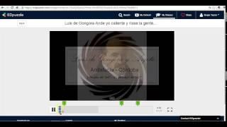 Videotutorial EDPUZZLE para profesores