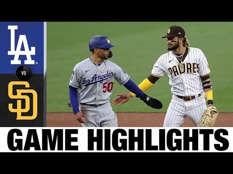 Dodgers vs. Padres Game Highlights (4/16/21) | MLB Highlights