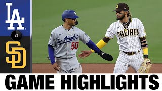 Dodgers vs. Padres Game Highlights (4/16/21) | MLB Highlights