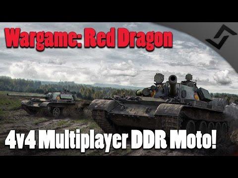 Wargame: Red Dragon - 4v4 Multiplayer East German Moto Gameplay