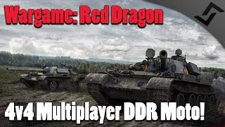 Wargame: Red Dragon - 4v4 Multiplayer East German Moto Gameplay