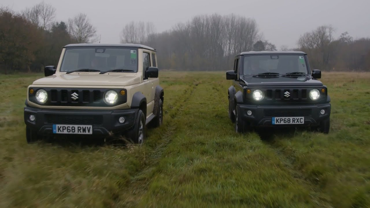 2019 suzuki jimny driving footage youtube. Black Bedroom Furniture Sets. Home Design Ideas