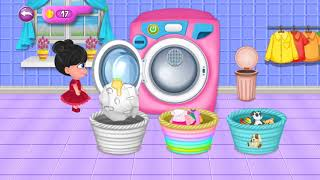 Mom Baby Clothes Washing Laundry