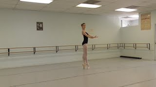 Slavin Nadal School of Ballet: Austin, TX, Raymonda variation, Advanced Summer Intensive 2014