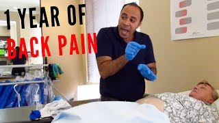1 Year of Lower Back Pain Relieved Before Your Eyes
