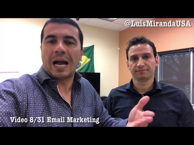 "E-mail marketing - Vídeo 8/31 ""O Poder do Marketing"" - Começa a Builderall"