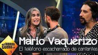 El loco teléfono escacharrado musical durante la visita de Mario Vaquerizo - El Hormiguero 3.0
