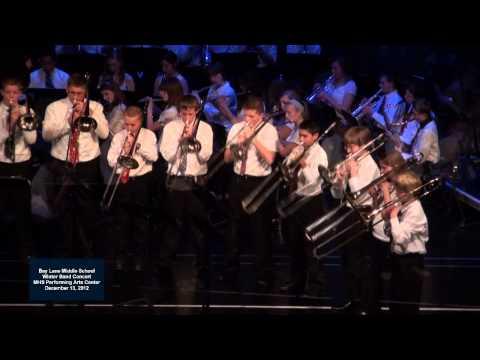 2012 - 12 Bay Lane Middle School Band - Karate Rock