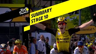 Samenvatting etappe 10 Tour de France 2019