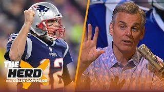 Colin Cowherd predicts the Patriots will win the AFC, Talks Mike McCarthy firing | NFL | THE HERD