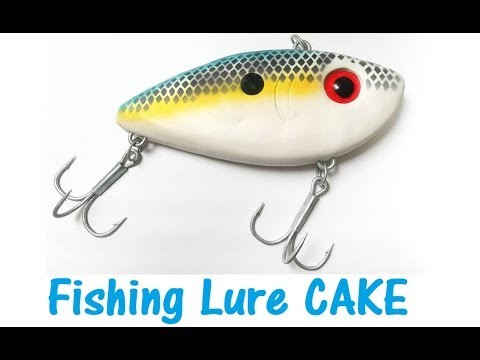 Fishing Lure Cake