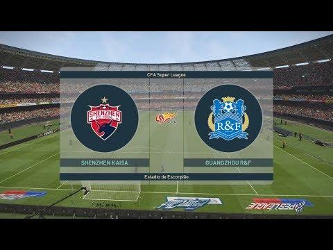 PES 2019 | Shenzhen vs Guangzhou R&F - China Super League | 14