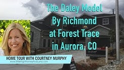 New Homes in Aurora CO - The Daley Model by Richmond at Forest Trace