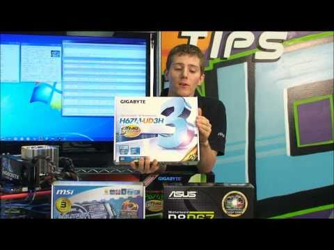 Intel Sandy Bridge Core i7 i5 P67 LGA1155 Overclocking Tutorial NCIX Tech Tips