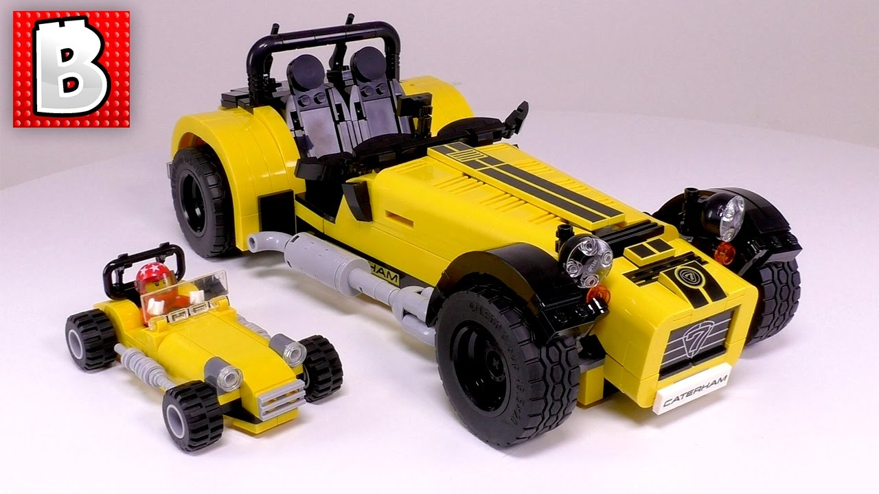 lego caterham seven 620r ideas set 21307 minifigure scale custom build youtube. Black Bedroom Furniture Sets. Home Design Ideas