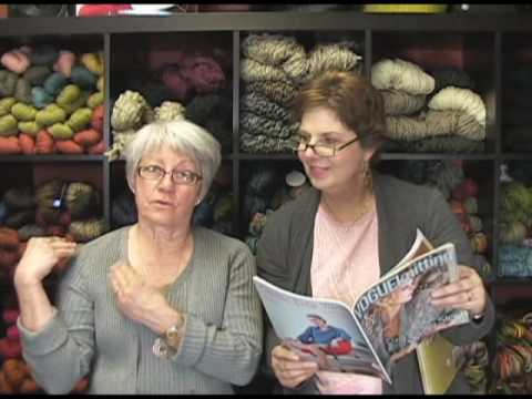 Vogue Knitting Shawls & Wraps Book and Spring Summer 2010 Magazine Review