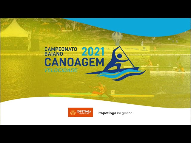 Campeonato baiano de canoagem em Itapetinga