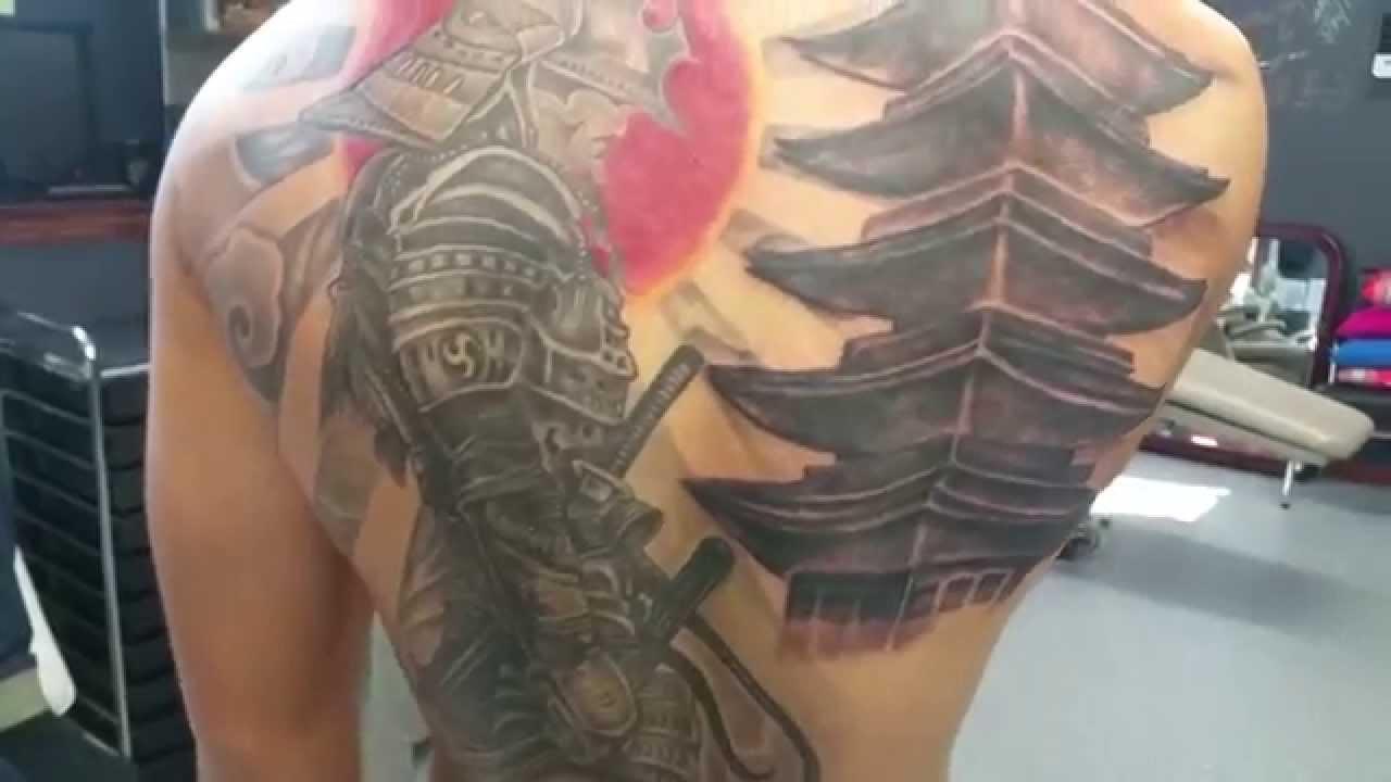 Japanese Warriors Tattoos Designs