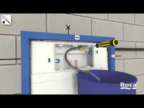 ROCA - Manual Instalação In-Wall Sanita