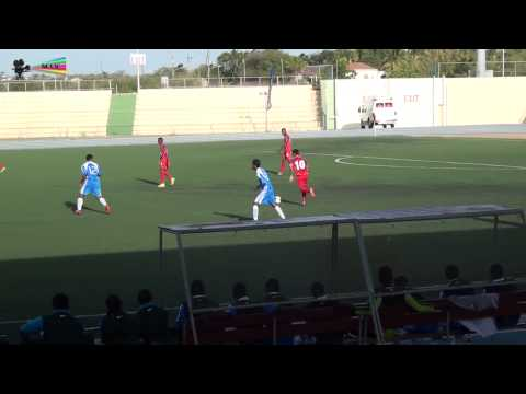 Football Concacaf FIFA U 20 Caribbean Cup Anguilla vs Cayman Islands 2014 by miv.tv curacao