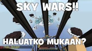 Minecraft: KAIKKI VASTAAN RONI!! [SkyWars] Deatan servulla!