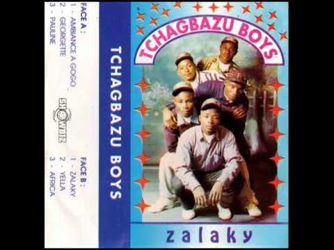 TCHAGBAZU BOYS (Zalaky 1997-1998)  A-01  Ambiance à gogo