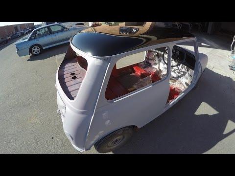 1963 Mini Cooper Repair & Respray Part 1