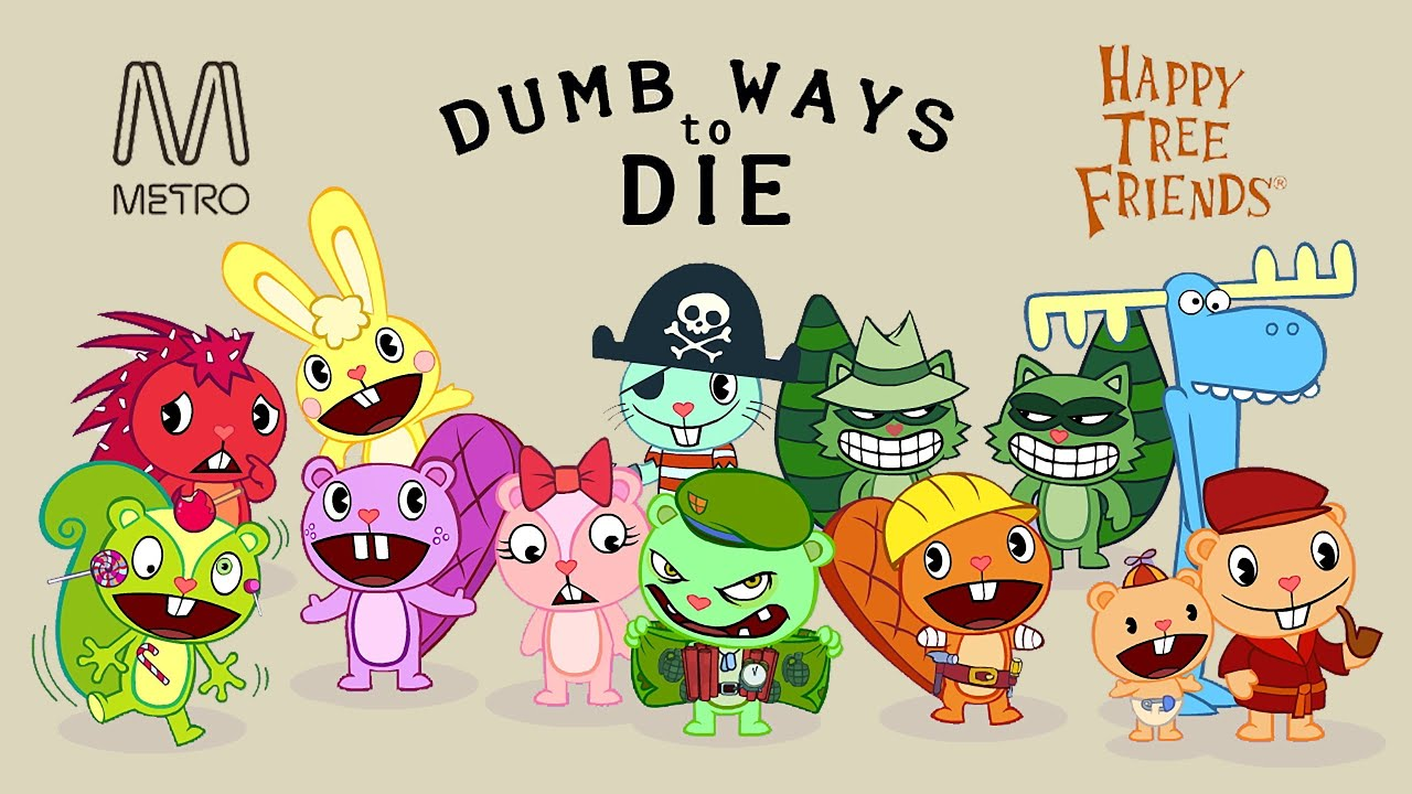 Dumb Ways to Die- Happy Tree Friends [HD] - YouTube