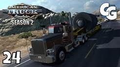 ATS S02E24 - Nevada to Arizona Long Haul (Part 1) - American Truck Simulator Let's Play