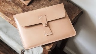 Making a Leather MacBook Case