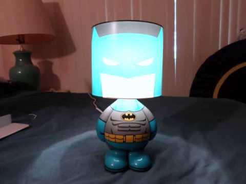 The Batman Lamp - YouTube