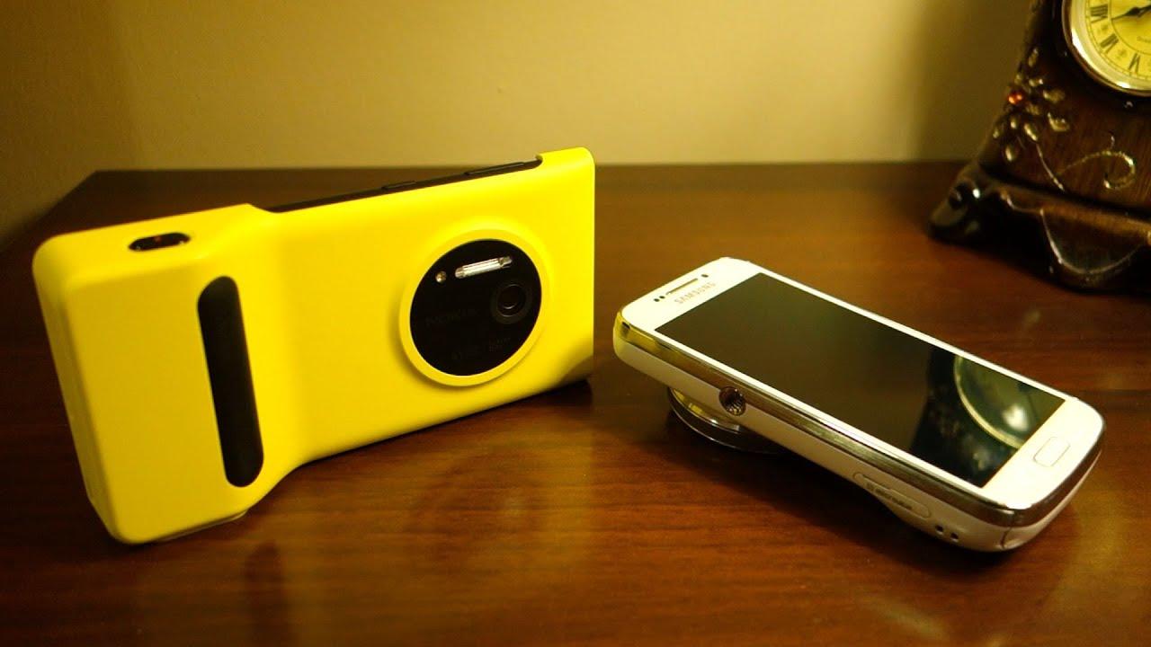 Nokia Lumia 1020 vs Samsung Galaxy S4 Zoom Camera ...