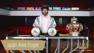 Jazán Ariel Foigel. Como hacer la brajá de la torá - Círculo Israelita de Santiago