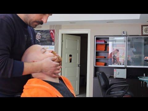 ASMR TURKISH BARBER FACE, HEAD & BACK MASSAGE # 1